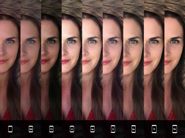 過去のiPhoneカメラとの比較画像3