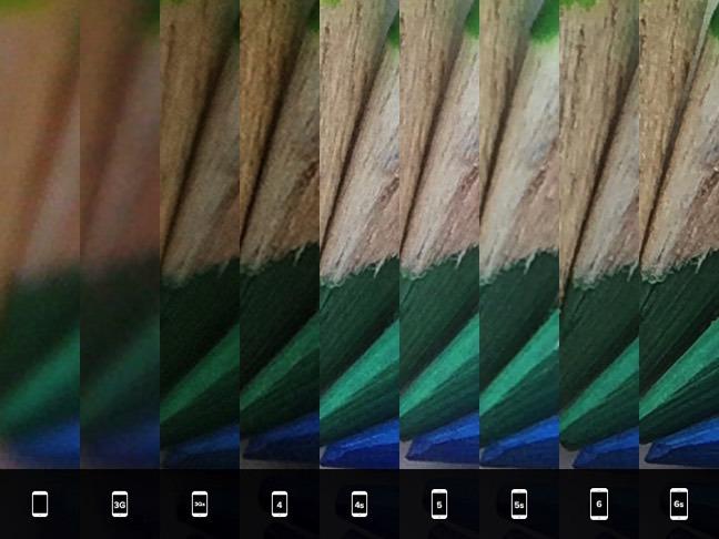 過去のiPhoneカメラとの比較画像1
