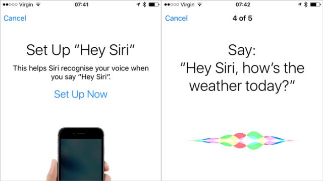 Hey, Siri