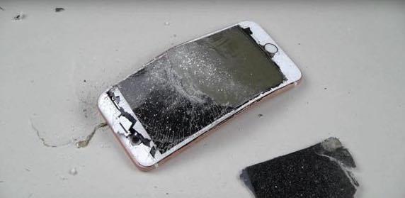 iPhone6s破壊検証動画007