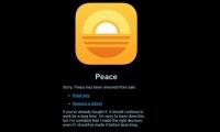 アプリ「peace」