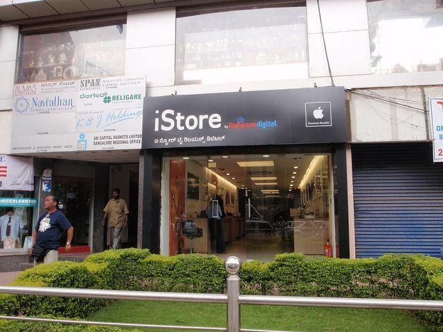 インド国内でApple製品を販売する店舗