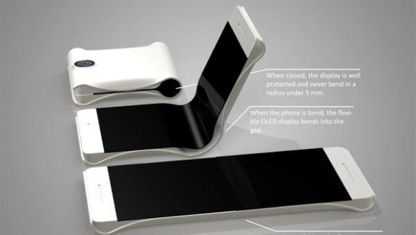 折りたたみ iPhone