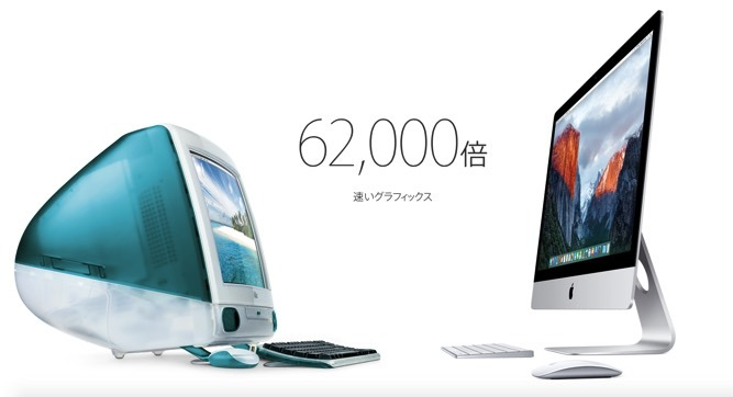 iMac あの時と今2