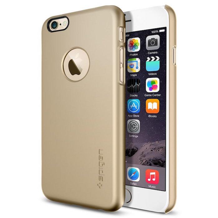 iPhone 6 ケース Spigen Apple iphone 4.7 (2014) シン・フィットA (国内正規品) (シャンパン・ゴールド 【SGP10943】)