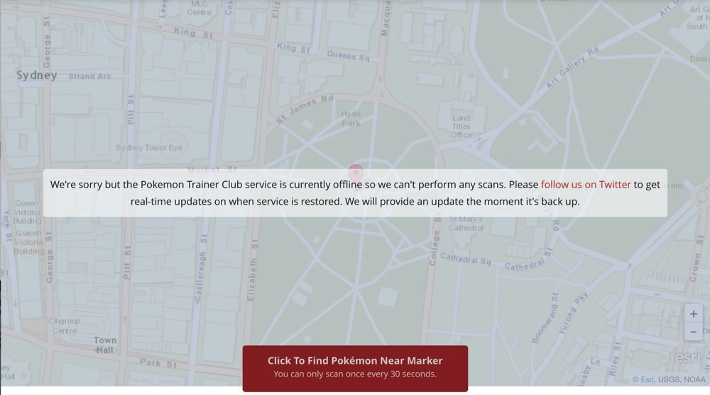 pokevision-error