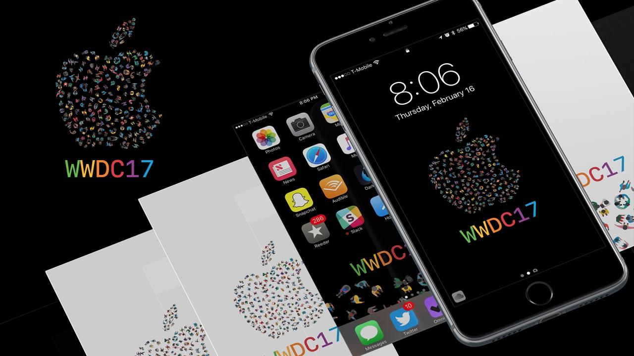 6月に開催の Wwdc 2017 風の壁紙が公開 Iphone Ipad Mac用が