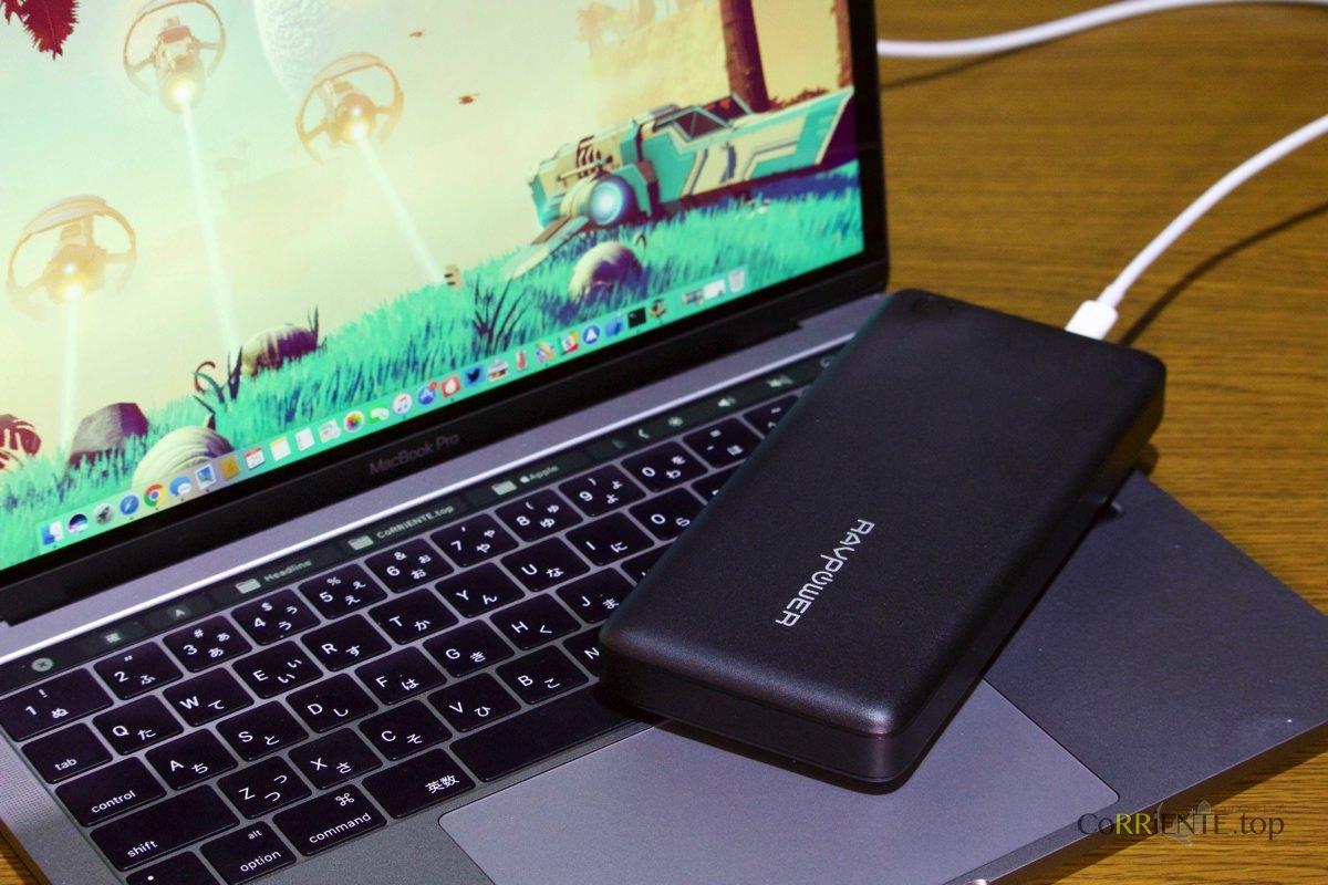 レビュー ニンテンドースイッチ や Macbook Pro 2016 を充電できるravpower26800mah 大容量モバイルバッテリー Usb C Usb Pdで充電できる優れもの Corriente Top