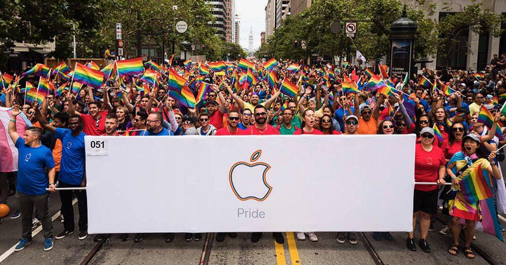Apple、LGBTQイベント「プライドパレード2017」に参加 CEOティム ...