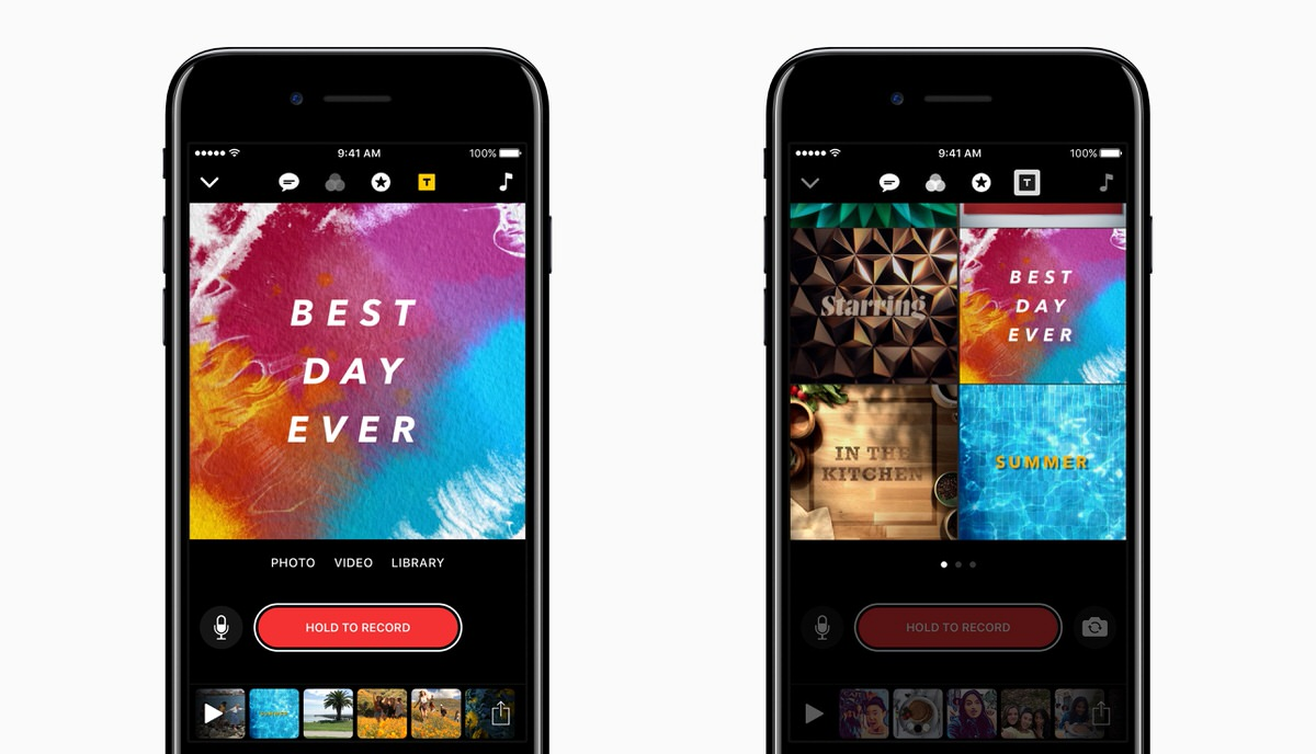Apple Clips アプリをアップデート ディズニーやトイストーリーの