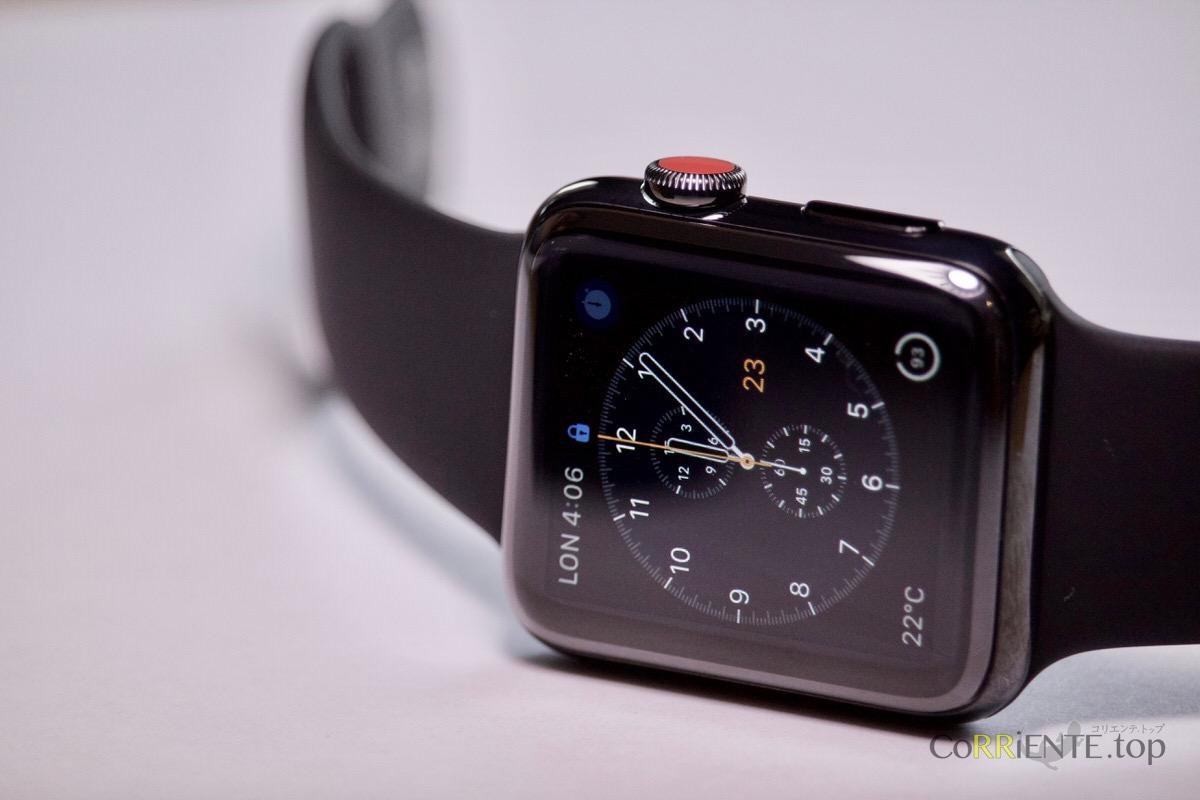 Apple Watch Series 3 ステンレススチール レビュー セルラー通信対応でついに 真のスマートウォッチ に Corriente Top