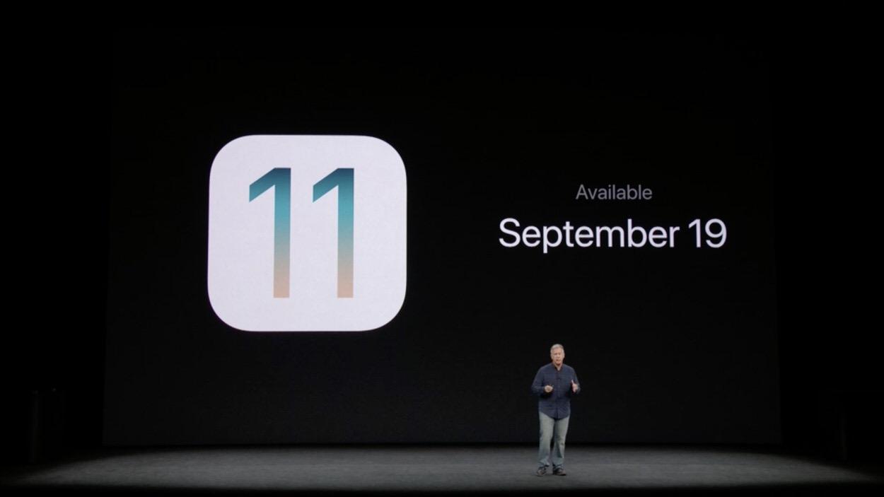 Apple、9月19日に「iOS 11」を一般リリースすることを発表 | CoRRiENTE.top