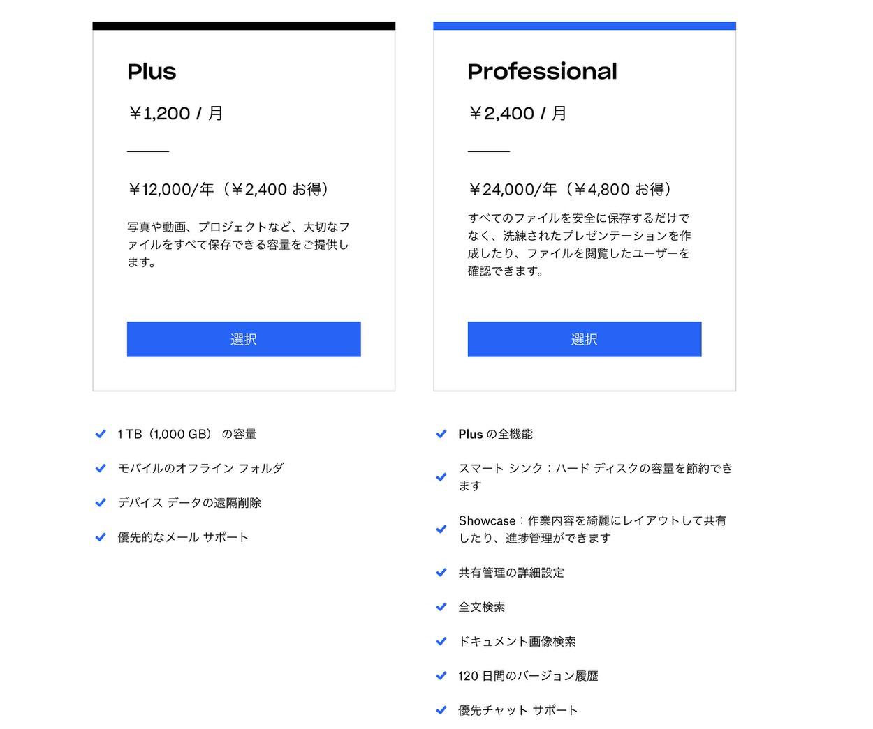 Dropbox、フリーランス向け「Dropbox Profesional」発表 10月18