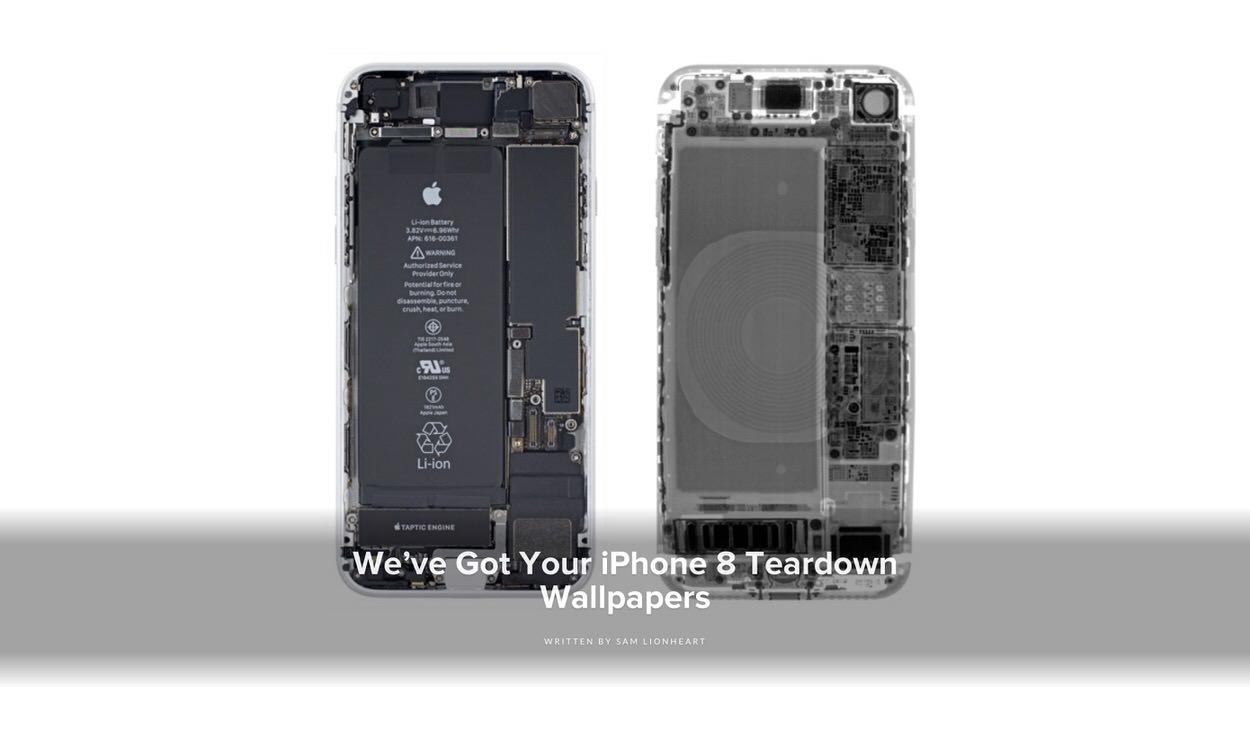 Ifixit Iphone 8 8 Plus をスケルトン化できる壁紙を公開