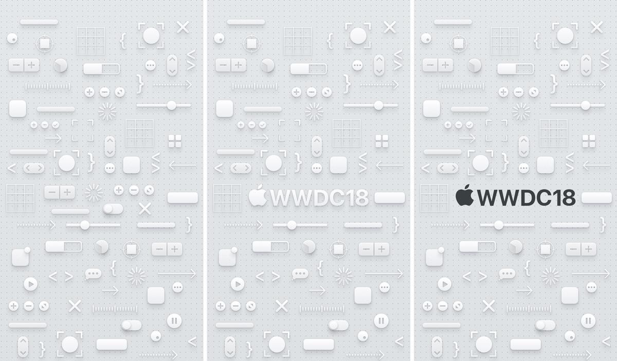 Wwdc 2018 の公式画像を使った壁紙が公開 各種iphoneで利用可能