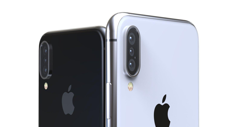 iPhone X 2018 une triple caméra et une version Plus