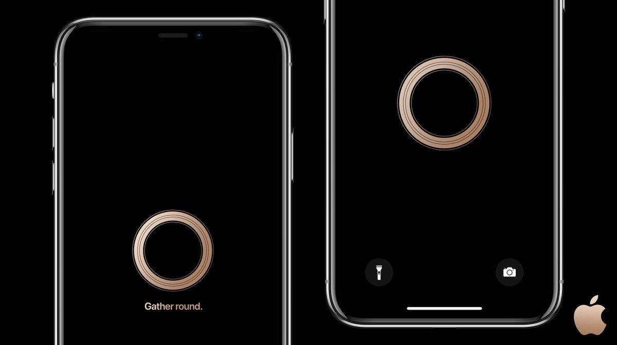 Appleの新型iphone発表イベント Gather Round の非公式壁紙が公開