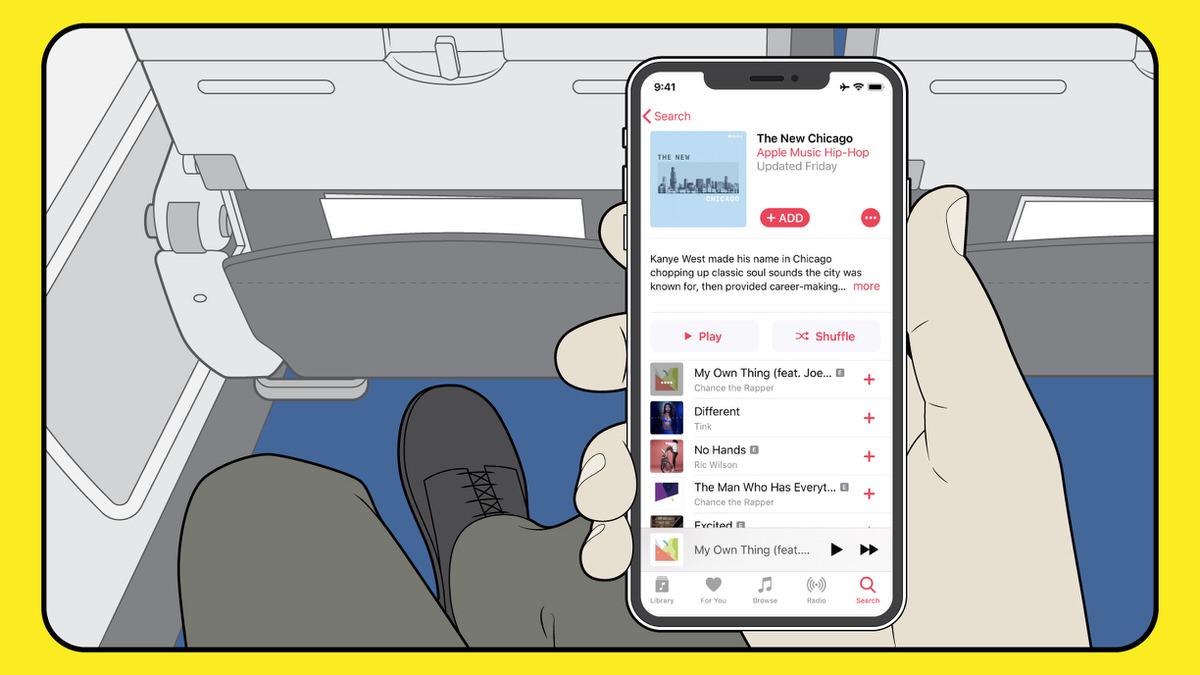 アメリカン航空 Apple Music契約者は機内wi Fiを使って音楽を聴き放題