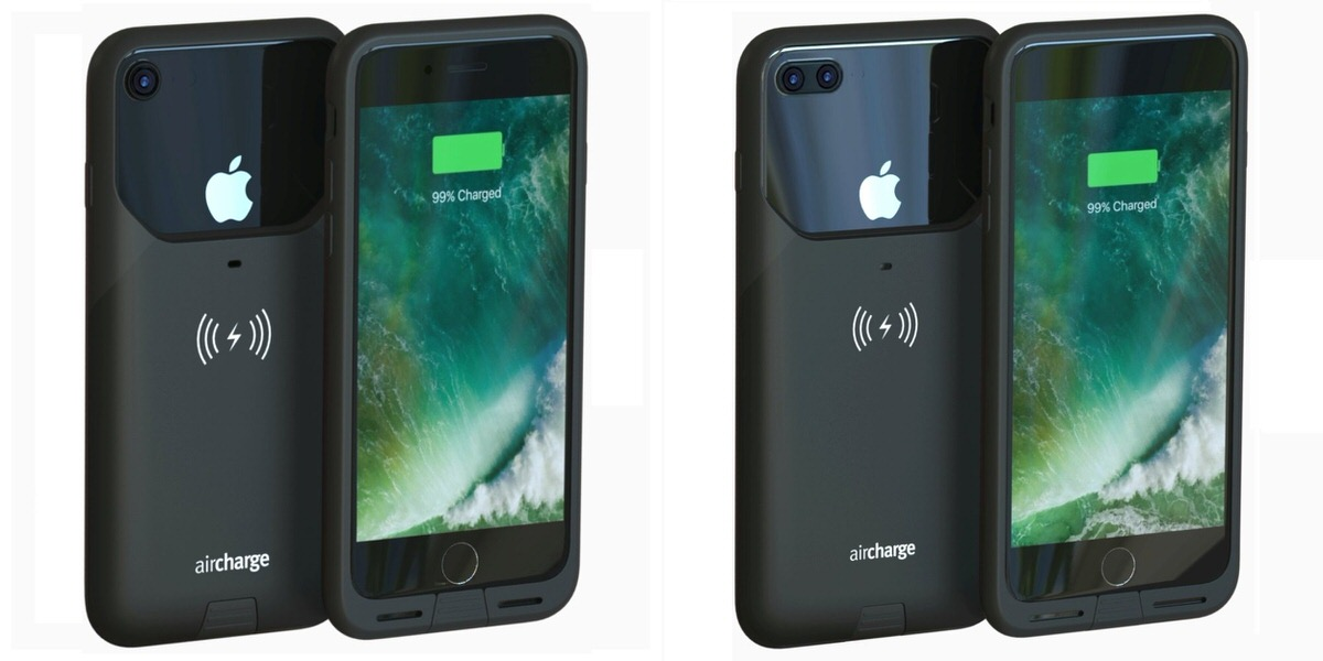 reputable site 043af c2403 Aircharge MFi WIRELESS CHARGING CASE (iPhone 7/7 Plus用)」 がAmazonで ...