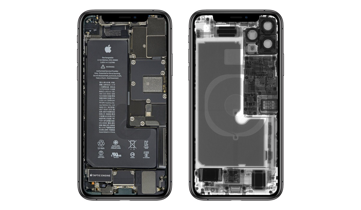 Ifixit Iphone 11 Iphone 11 Proのスケルトン壁紙を配布 Corriente Top